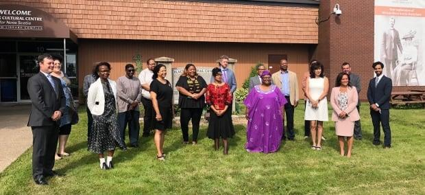 The new provincially funded African Nova Scotian Justice Institute was announced Monday at the Black Cultural Centre in Cherry Brook, N.S. The institute will offer policing accountability, data collection, court support, legal defence and other programs. It is expected to begin operating within one year.  (Jean Laroche/CBC - image credit)