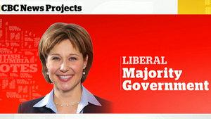 B.C. Liberal Leader Christy Clark has wonning a majority government in a stunning come-from-behind victory, CBC News is projecting.