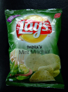 <p>What exactly makes the mint mischievous? Who knows? Why is it a flavor of chips? Because people like variety and this Indian-cuisine-inspired mashup is certainly a bold take on the traditional crisp. Does it taste good? You'll have to try it yourself.<br></p>