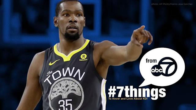 He's an MVP on and off the court. Here are 7 things we know and love about Golden State Warriors star Kevin Durant!