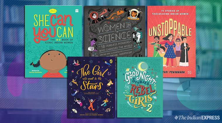 Women In Science, among a collection of other female-focussed children's books for International Women's Day 2019.
