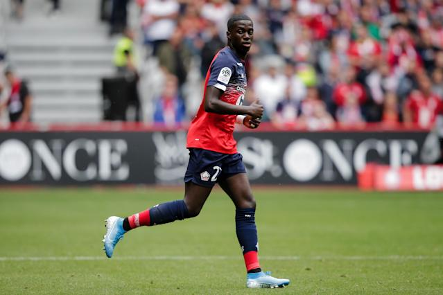 USMNT winger Timothy Weah will miss the rest of the season for Lille. (Photo by Erwin Spek/Soccrates/Getty Images)