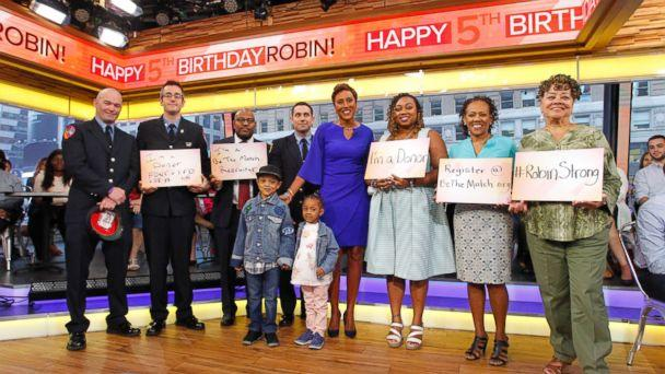 PHOTO: 'Good Morning America' co-anchor Robin Roberts is celebrating her fifth 'birthday,' the anniversary of the day she received a life-saving bone marrow transplant. (Lou Rocco/ABC)