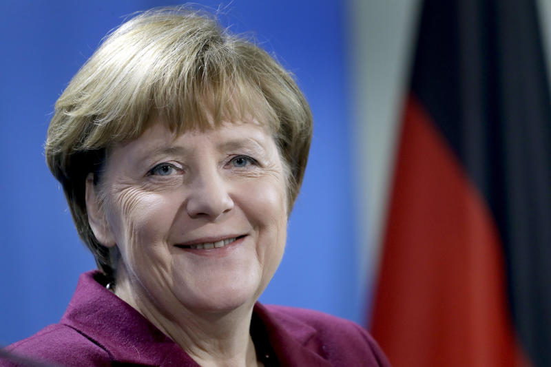 Germany's Angela Merkel Says She'll Run For Fourth Term In 2017