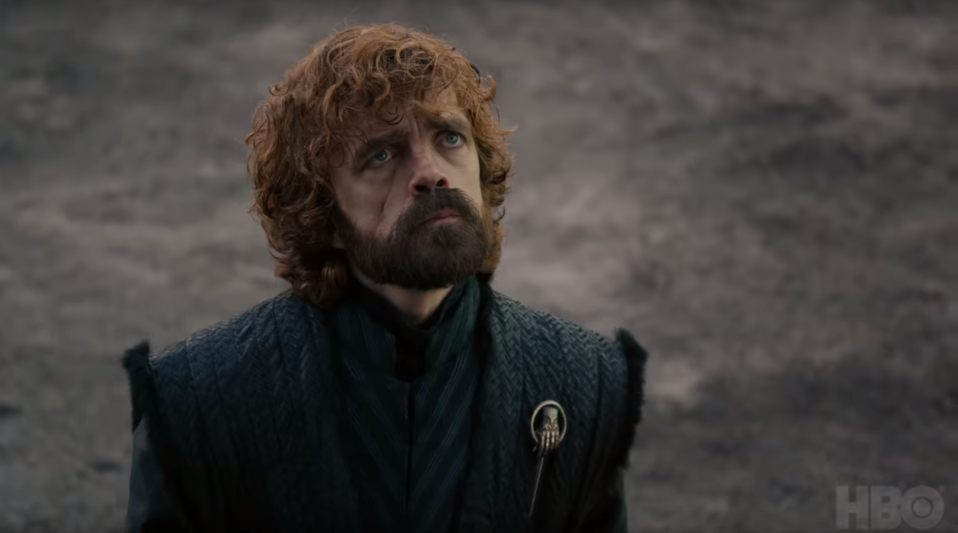 Is this shot from Tyrion's final season 8 scene? (credit: HBO)