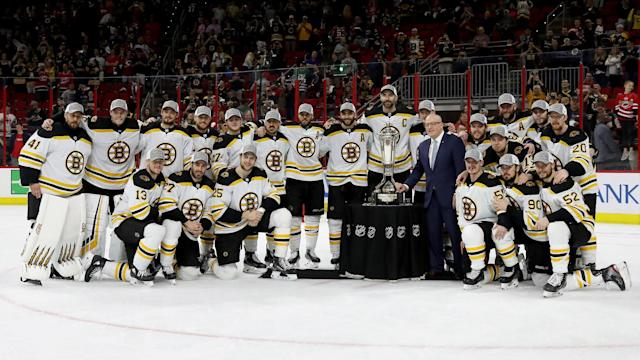 The Bruins' sweep of the Hurricanes could put them at a disadvantage and it is all about the timing.