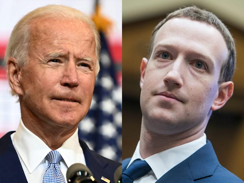 A top Biden staffer laid into Facebook for 'shredding the fabric of our democracy' — yet another sign the social media giant should fear the new administration