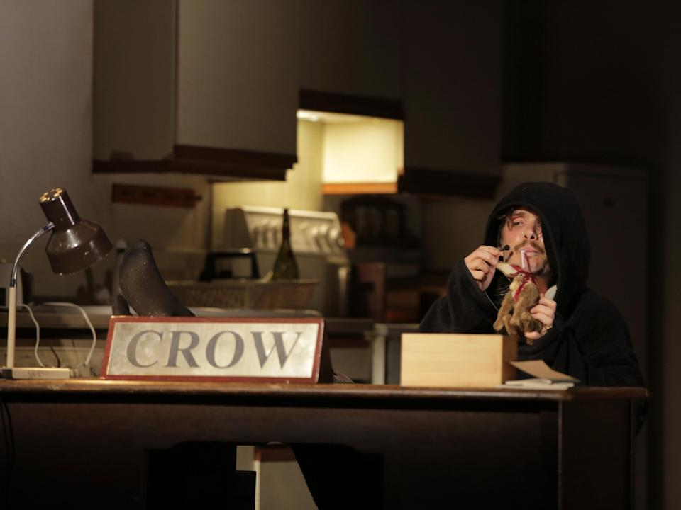 The stage production of Grief is the Thing with FeathersColm Hogan