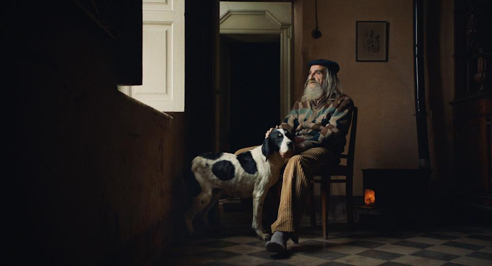 Angelo Gagliardi, a 78-year-old former hunter whoquit because rival hunters started planting poison to kill the dogs. (Photo: Sony Pictures Classics)