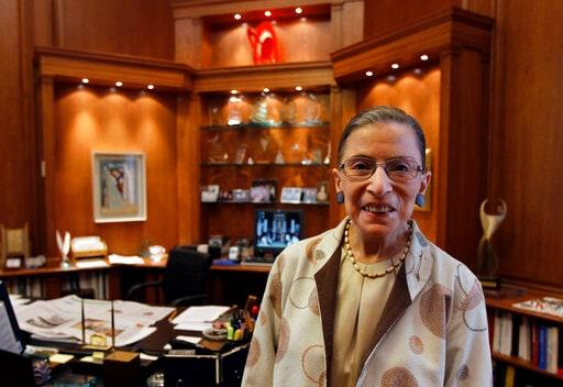 Ginsburg's Style Was More Than A Subtle Courtroom Statement