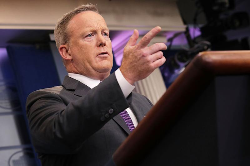 Spicer argues against 'Made in America' protectionism – for Trump's businesses
