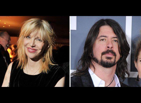 """Courtney Love and former Nirvana drummer Dave Grohl have been feuding over the rights to Nirvana's music since Kurt Cobain killed himself in 1994.   Though they hugged it out at the band's recent rock hall of fame induction, back In 2011, <a href=""""http://www.huffingtonpost.com/2011/11/15/courtney-love-explains-foo-fighters-rant_n_1095238.html"""" target=""""_hplink"""">Courtney explained</a> why she hates the Foo Fighters frontman.  """"What I was saying, is Dave makes $5 million a show, he doesn't need the money. His mother's a banker, his father's a stock broker and he's making $5 million a show. Why the f**k then does he have a Nivana Inc. credit card and I don't? And last week he bought an Aston Martin on it,"""" she said."""