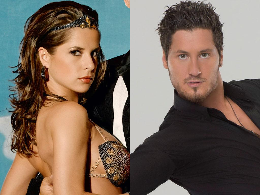"Kelly Monaco will be dancing with Val Chmerkovskiy this fall on ABC's ""Dancing With the Stars: All-Stars,"" premiering September 23."
