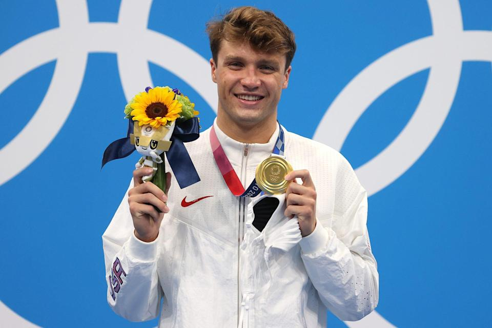 """<p>Biography: 21 years old</p> <p>Event: Men's 1500m freestyle (swimming)</p> <p>Quote: """"Honestly, it doesn't really seem real. I came in not really expecting to medal. I was just going to try my best to make the finals. So to come out of it with two golds, it means the world to me, especially for my family and teammates."""" </p>"""