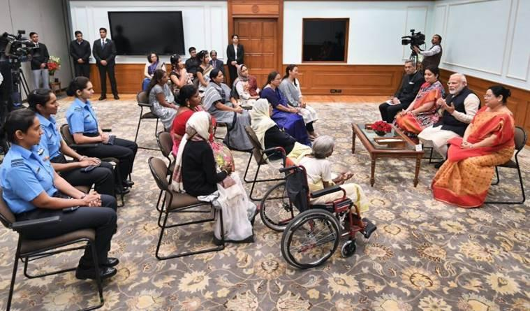 international women's day 2020, pm modi on women's day, sheinpsires modi women's day, un women's day theme, women's day india celebrations, india news, indian express