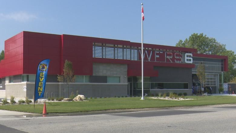 Windsor's new fire hall built to withstand flooding, earthquakes
