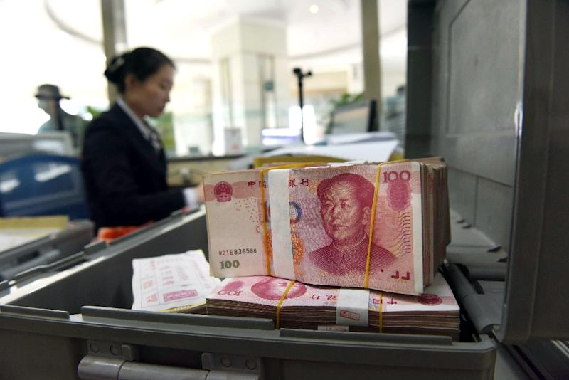 Market sentiment has been boosted by fresh Chinese stimulus (AFP Photo/)
