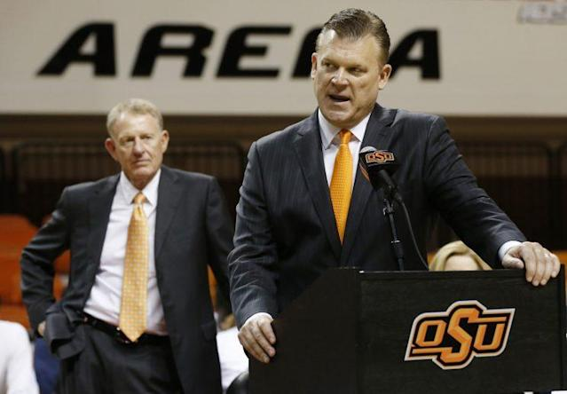 Oklahoma State coach Brad Underwood and his program were rocked by tragedy Thursday (AP)