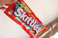 <p>People love to taste the rainbow—these confections are the second most popular of all candies in the U.S., second only to Starburst. They're also a highly munchable treat that you might have a hard time saving until the movie starts.</p>