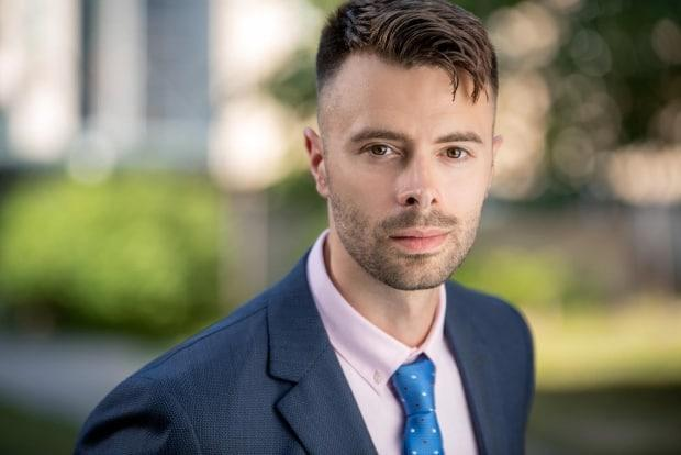 Dr. Matt Strauss says he's toning down his tweets critical of measures aimed at preventing the spread of COVID-19 now that he's Haldimand-Norfolk's new acting medical officer of health. (Haldimand-Norfolk Health Unit - image credit)