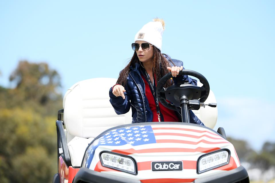 <p>Erica Herman alla Presidents Cup del 2019 (Photo by Quinn Rooney/Getty Images)</p>
