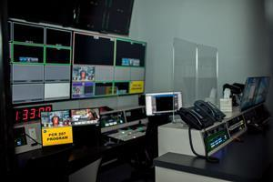 Inside a VISTA Worldlink production control room.