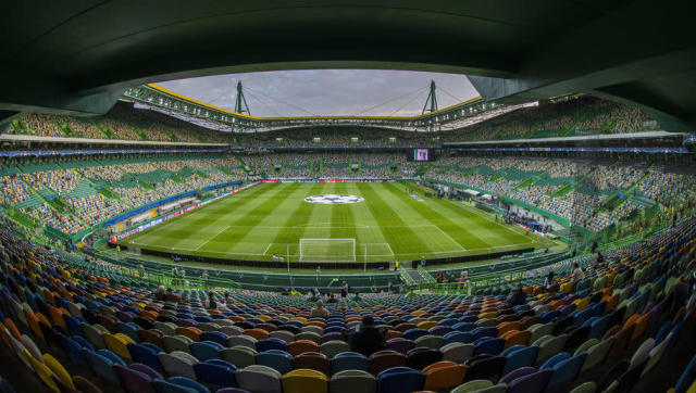 <p><strong>Average attendance: 42,837</strong></p> <p>Stadium capacity: 50,080</p> <p>Occupancy rate: 85.5%</p> <br><p>The first of two Portuguese teams in the top 25, Sporting Lisbon's participation in the Champions League this season, where they were pipped by Real Madrid and Borussia Dortmund to a place in the knockout stages, probably helped their massive local following. </p>