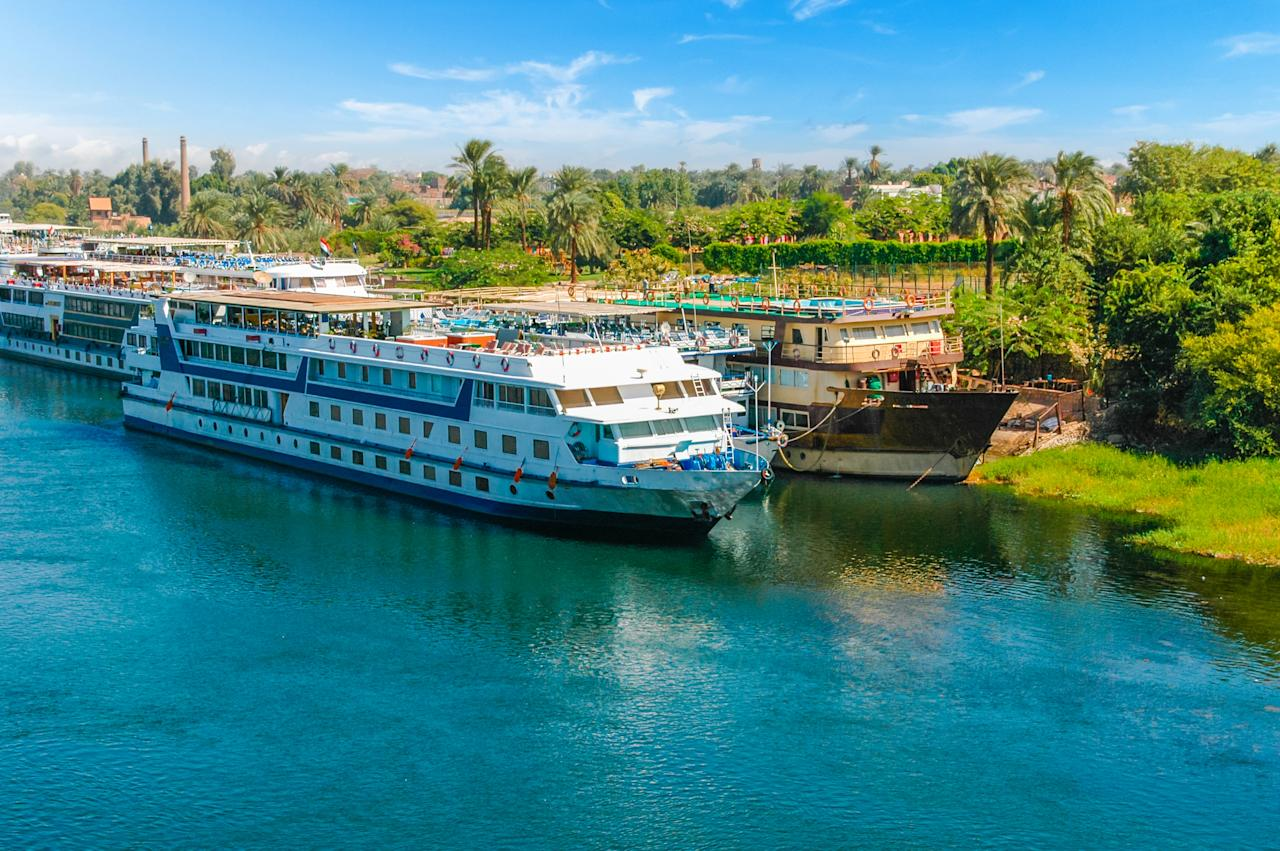 "A cruise down the Nile can give a great insight into rural Egyptian life – and reveals a land that time forgot. Many trips give passengers the opportunity to hop off and explore rarely visited villages along the banks, bustling markets and some of the country's most fascinating relics. <a href=""https://www.originaltravel.co.uk/itineraries/a-taste-of-the-nile"">Original Travel</a> has a nine-night trip from £3,420pp, including international and domestic flights and accommodation. Sailing on a 19th-century steamer with teak decks, you'll also explore the Valley of the Kings and Luxor on guided tours. <em>[Photo: Getty]</em>"
