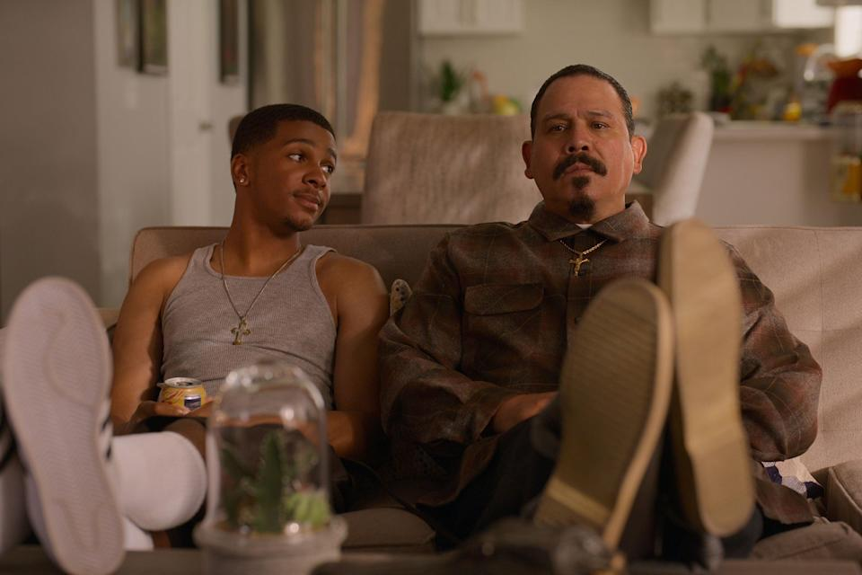 """<strong><em>On My Block</em></strong><br><br>The teen comedy series breezed into our lives back in 2018, following four friends – Monse, Ruby, Jamal and Cesar– navigating love, life and coming of age at a high school in a rough LA neighbourhood. Now, the fourth and final season is here. It picks up two years after we last saw the gang, who find themselves unexpectedly reunited after a long lost secret is unburied. <br><br>Available 4th October<span class=""""copyright"""">Photo Courtesy of Netflix.</span>"""