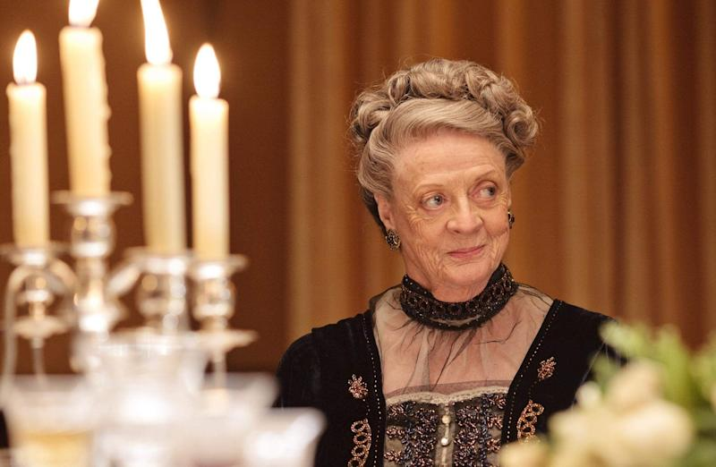 Dame Maggie as Violet Crawley in the Downton Abbey (Photo: ITV)
