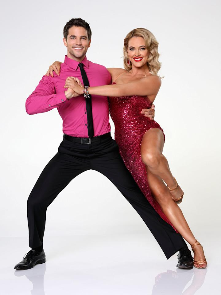 "Brant Daugherty partners with Peta Murgatroyd on ABC's ""Dancing With the Stars"" Season 17."