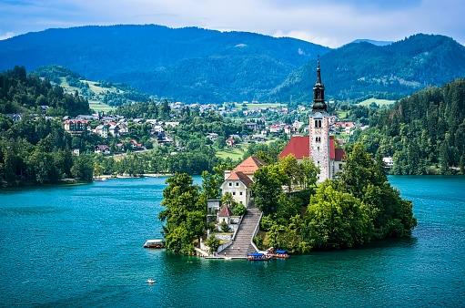 Radovljica is a couple of miles from the famous Lake Bled - Credit: Beautiful photos from all over t