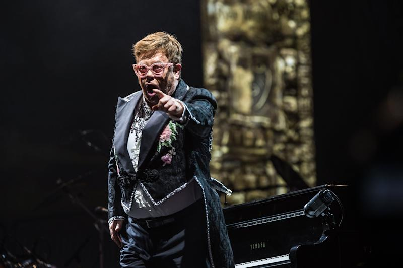 Elton John slammed Brexit while performing in Verona (Elena Di Vincenzo/Archivio Elena Di Vincenzo/Mondadori Portfolio via Getty Images)