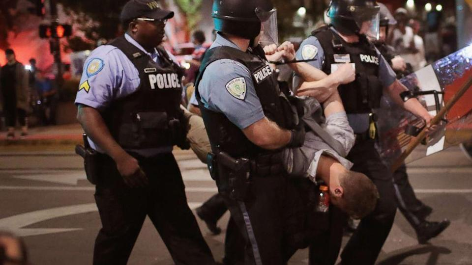 123 arrested in St. Louis in 3rd night of protests over ex-cop's acquittal (ABC News)
