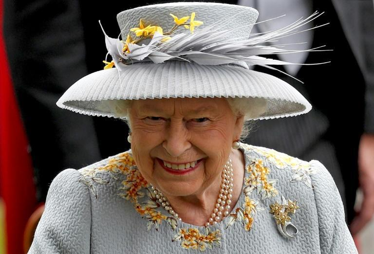 """Britain's Queen Elizabeth II and her family are """"delighted"""" at the birth of a daughter to her grandson Prince Harry and Meghan Markle, Buckingham Palace said in a statement"""