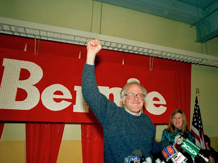 Bernie Sanders elected to the House of Representatives