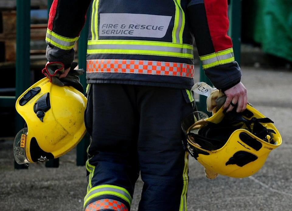 Shed and garage fires increased by 16% in 2020 compared with the previous year, figures show (Rui Vieira/PA) (PA Archive)