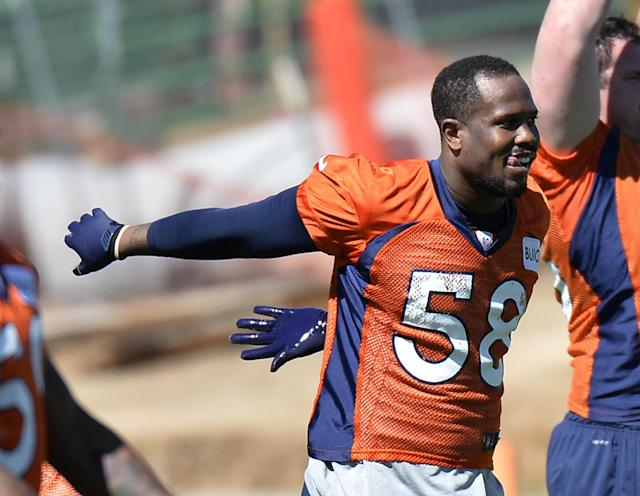 Von Miller looks healthy as he heads into an important 2014 season