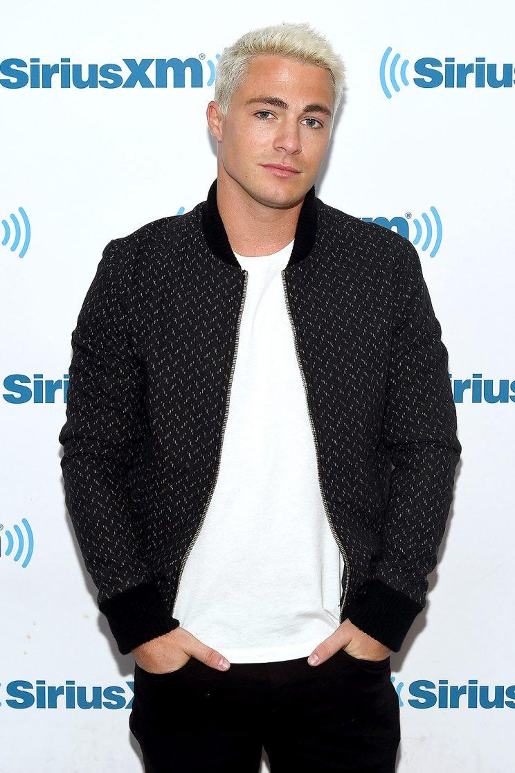 Colton Haynes chats with Andy Cohen.