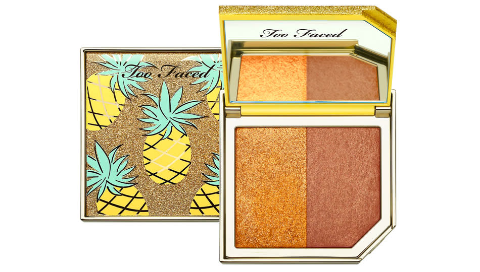 Too Faced Strobing Bronzer Highlighting Duo is 50 percent off. (Photo: QVC)