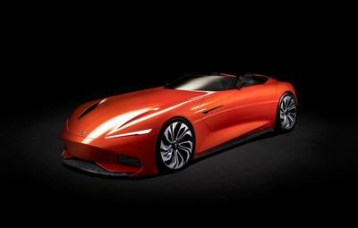 The SC1 Vision Concept features state-of-the-art technology with artful aesthetics, customized elements and a pure electric platform that reveal bold statements about the future of Karma Automotive.
