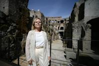Colosseum site director Alfonsina Russo says the hypogeum -- a monument within a monument -- is finally being returned to the public