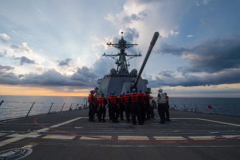 U.S. Sails Warship Close to Chinese-Claimed Reef