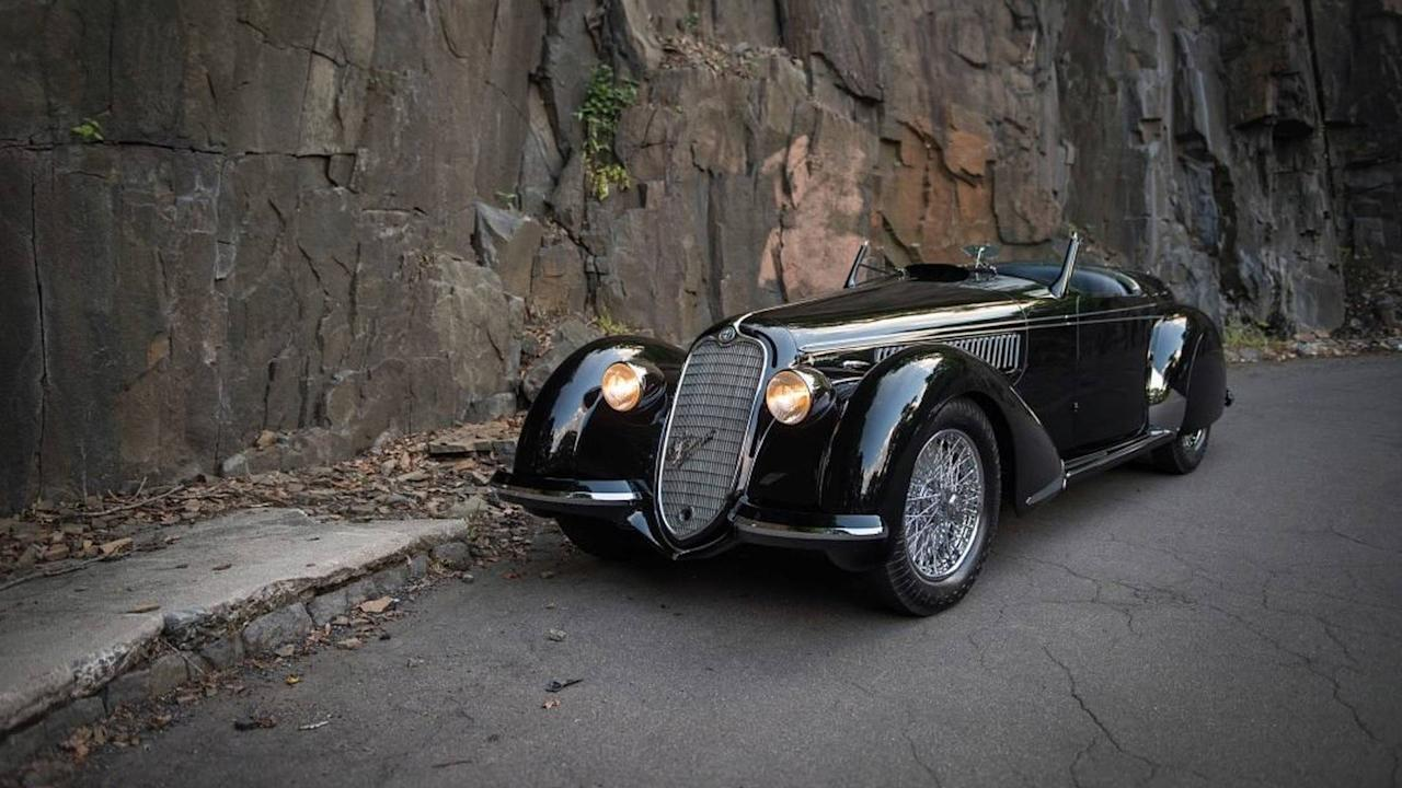 """<p><strong>Price:£15,898,575 [$21,111,686]</strong></p> <p>Another model from the 1930s, the <a rel=""""nofollow"""" href=""""https://www.motor1.com/alfa-romeo/"""">Alfa Romeo</a> 8C 2900B Lungo Spider is among the few sports car choices of that era. It was also the most advanced, modern, and compelling sports car that money could buy at that time, not to mention the rarest as well. Only 32 of these cars in 2.9 chassis were made,seven of which are Touring Spiders in long chassis.</p>"""