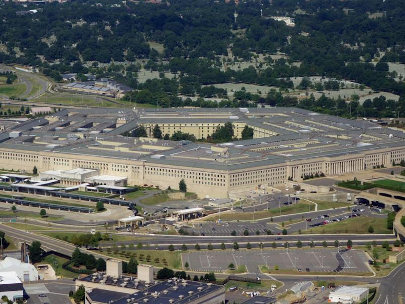 The Pentagon from above: Saul Loeb (AFP)