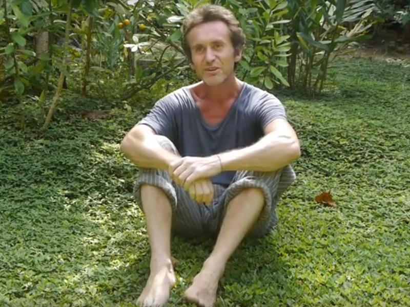Explorer Bruce Parry has visited the retreat where Olivia Arevalo worked (Temple of the Way of Light)