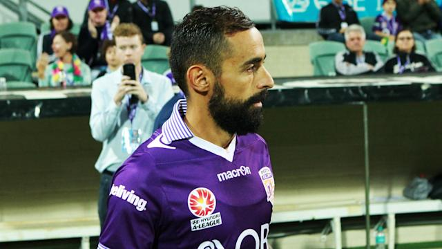 The reigning Johnny Warren medallist is off contract at the end of the season and Perth Glory face at least one rival to his signature