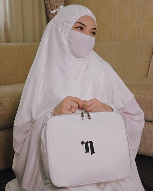 Neelofa has been busy promoting her new product