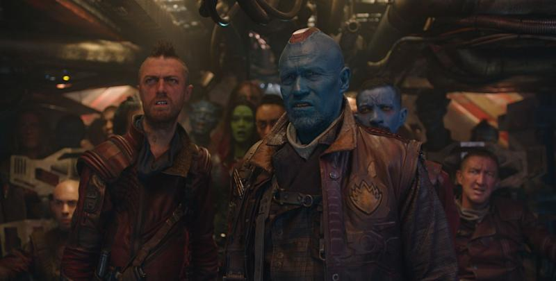 Michael Rooker as Yondu in 2014's Guardians of the Galaxy. (Marvel Studios/Disney)