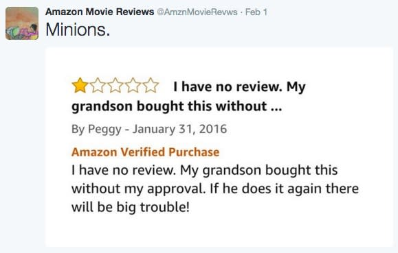 1aebf4cdab Funniest Amazon movie reviews you ve ever seen